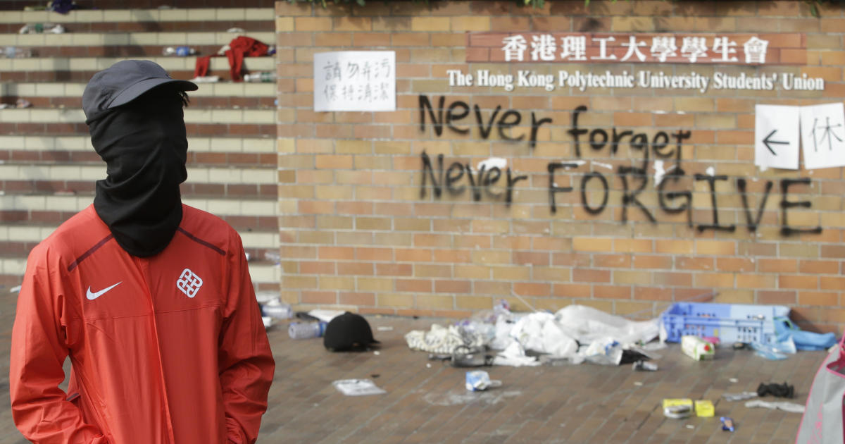 Siege of major university in Hong Kong continues for seventh day