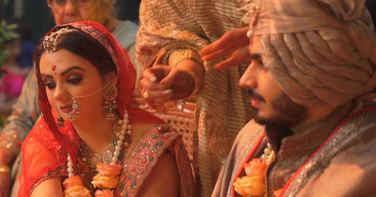 World of Weddings: In India, arranged marriages are as strong as ever - CBS News
