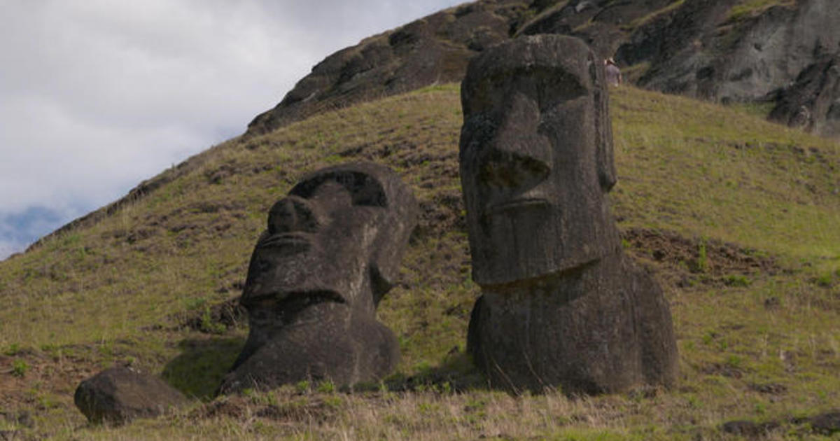 Easter Island's famous moai statues slowly fading away