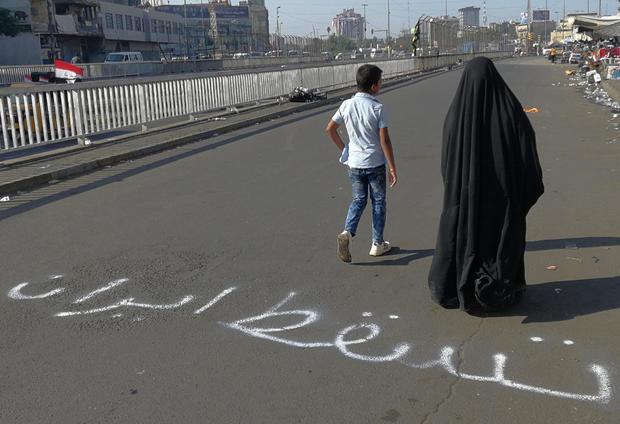 Iraq Protests Anger at Iran