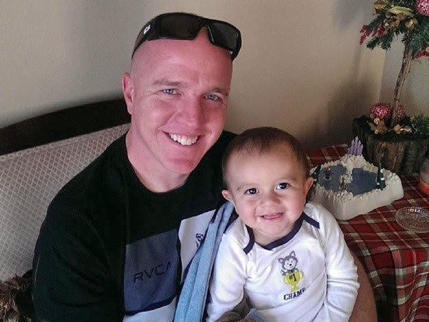 Daniel Greenn with son aiden
