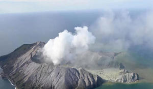 Survivors of New Zealand volcano eruption left badly burned