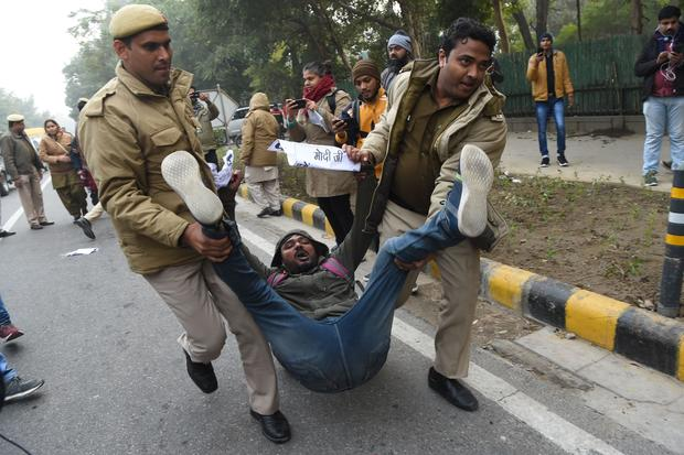 INDIA-POLITICS-RIGHTS-UNREST