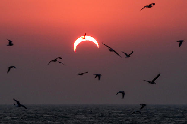 KUWAIT-ASTRONOMY-SOLAR-ECLIPSE