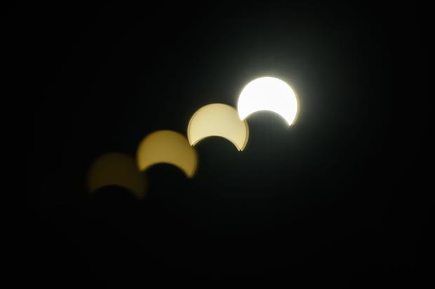 HONG KONG-ASTRONOMY-SOLAR-ECLIPSE