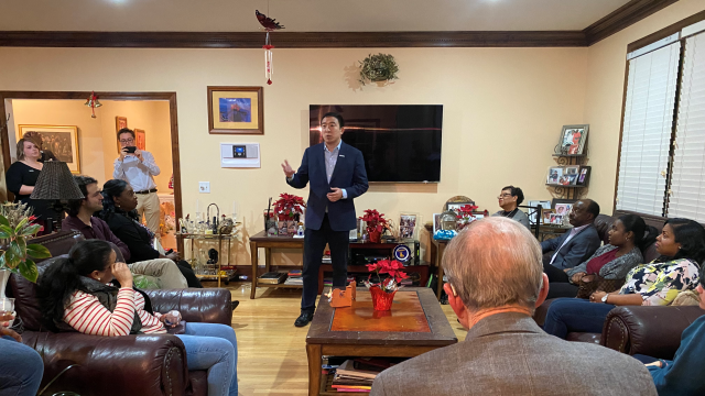 Andrew Yang house meet and greet Columbia South Carolina