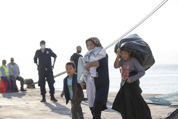 Germany Greece Migrants