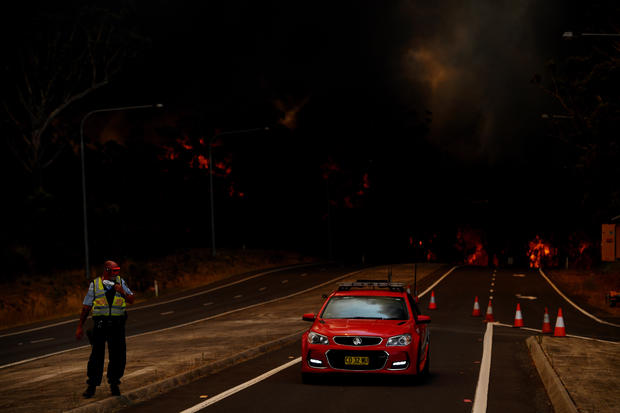 NSW Firefighters On High Alert Ahead Of New Year's Eve Fireworks Display