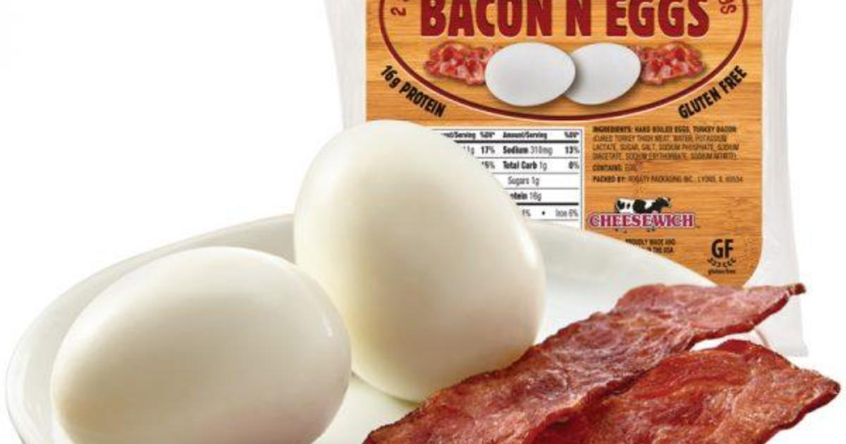 Egg Recall Prompts Public Health Alert Over Ready To Eat Cheesewich Meal Cbs News