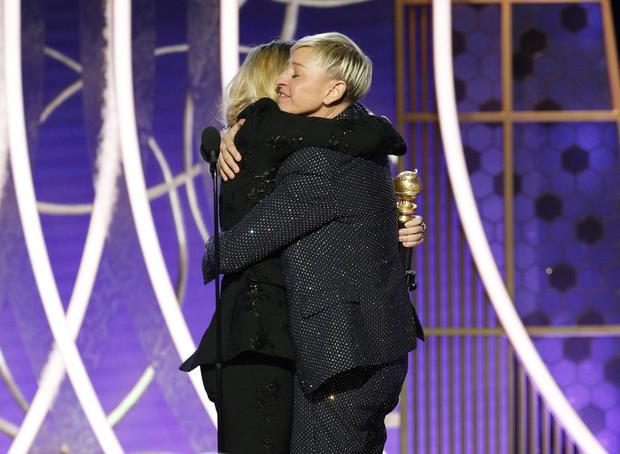 Ellen DeGeneres — 77th Annual Golden Globe Awards