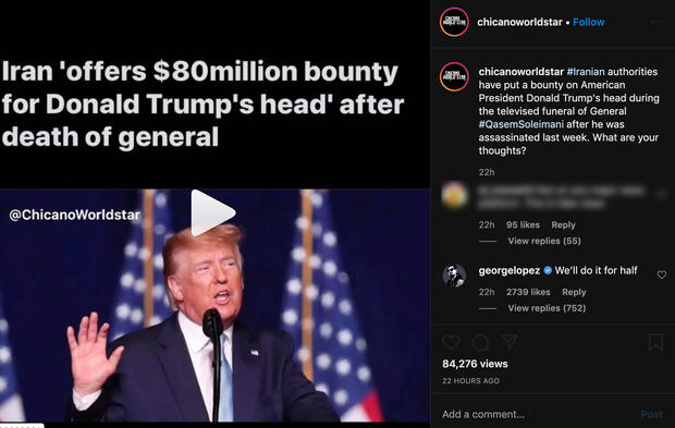 Donald Trump bounty