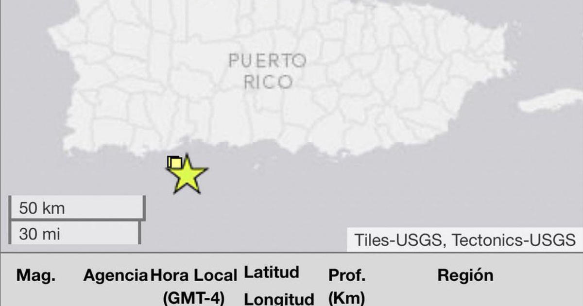 Earthquake in Puerto Rico today: 5.7-magnitude quake strikes south ...