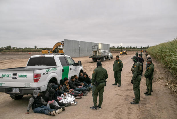 US Border Agents Patrol Rio Grande Valley As Migrant Crossings Drop