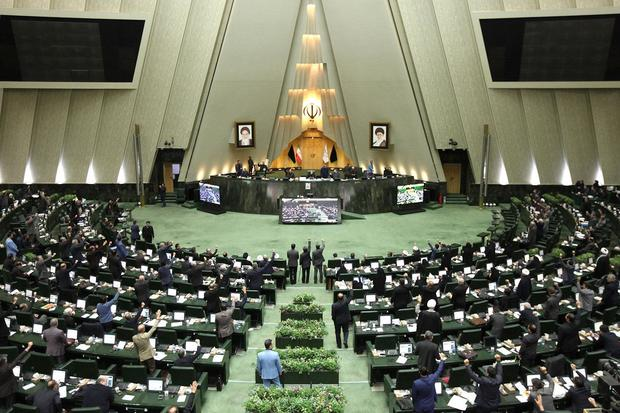 Iranian parliament voted to designated the U.S. military and the Pentagon terrorist organizations
