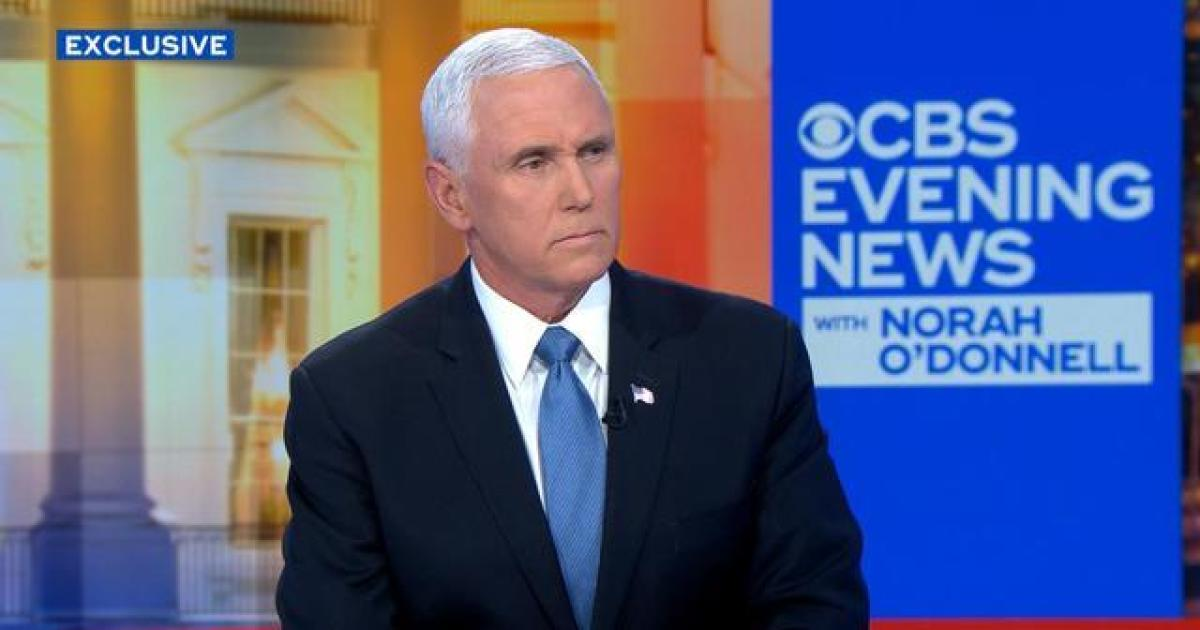 """Pence says Americans are """"safer"""" after Soleimani's death"""