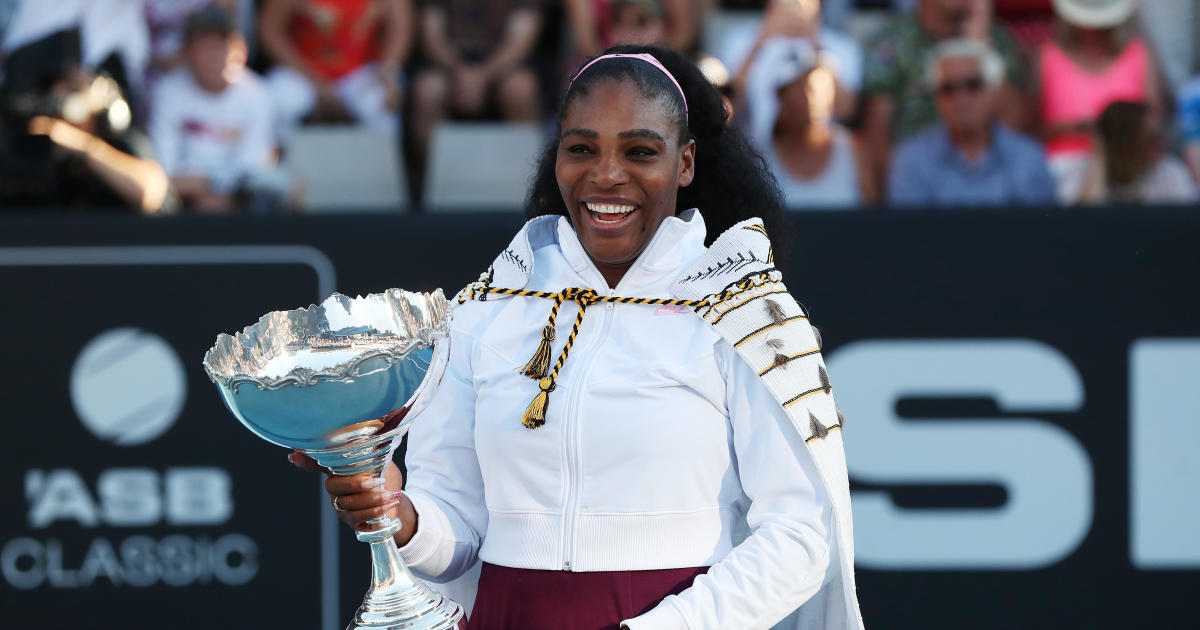 Image result for Serena Williams wins first title in 3 years — and donates prize money to Australia wildfire relief