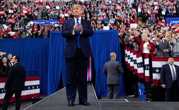 President Trump MAGA rally