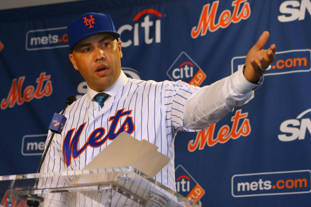 New York Mets Introduce Carlos Beltran - Press Conference