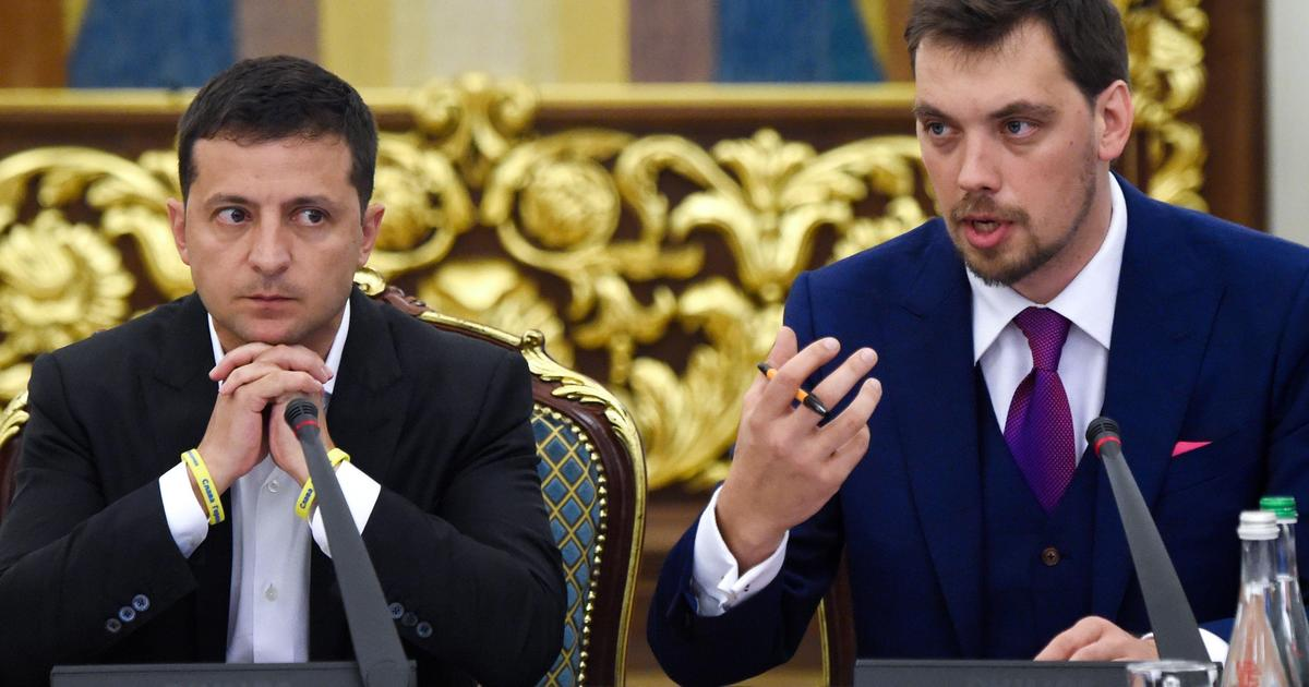 Ukraine's prime minister offers to resign over leaked audio thumbnail