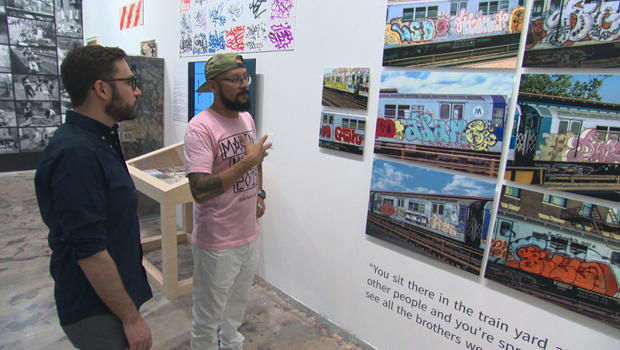 graffiti-artist-historian-and-collector-alan-ket-with-kenneth-craig-at-the-museum-of-graffiti-620.jpg