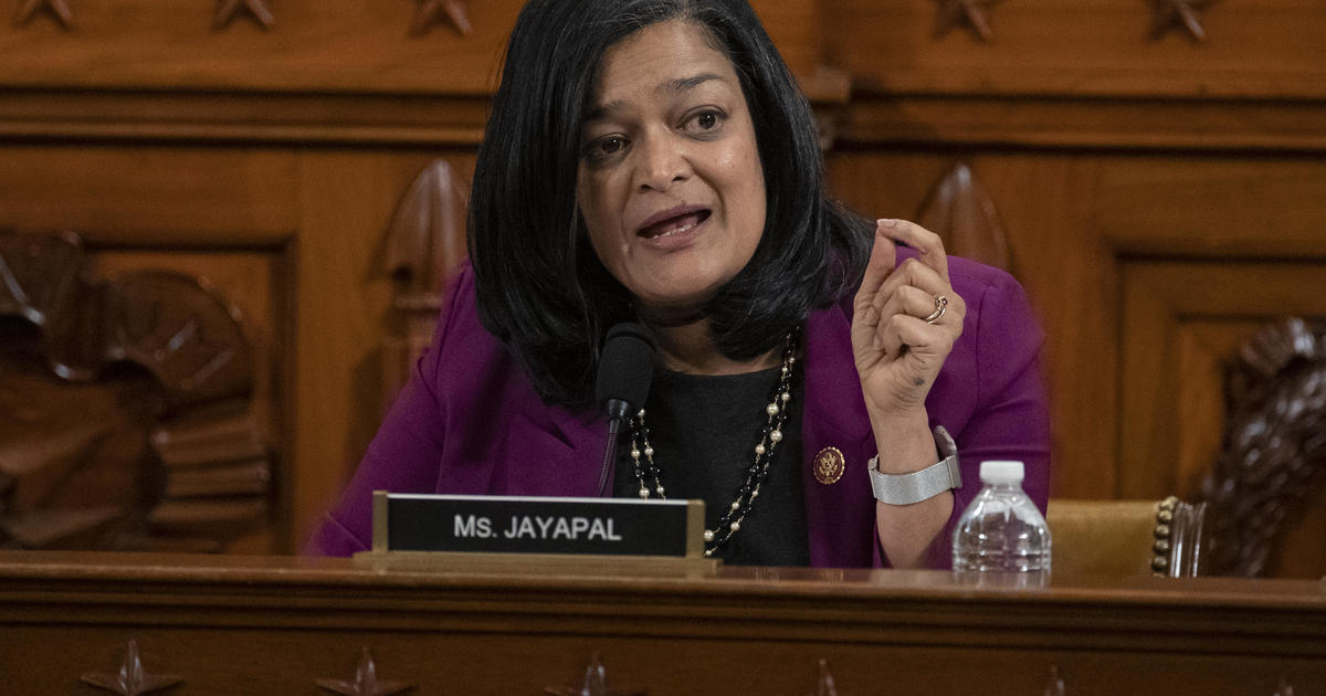 """Representative Pramila Jayapal: If a progressive is not elected, """"We will end up with another Donald Trump down the road"""""""