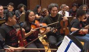 """Conductor Gustavo Dudamel: It's necessary """"to have art as part of your life"""""""