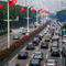Traffic Jam Before National Day In China