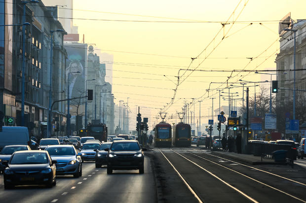 Smog in Warsaw