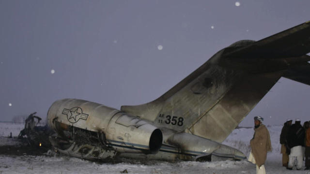 Plane Crash In Afghanistan Remains A Mystery But Us Military Reaches Crash Site To Retrieve Remains Cbs News
