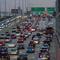 Traffic jam in Chicago