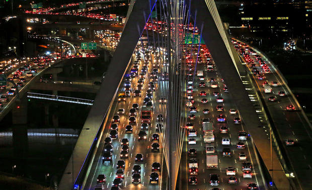 Seeing Red: Traffic Paralyzes Boston Area Amid Political Gridlock