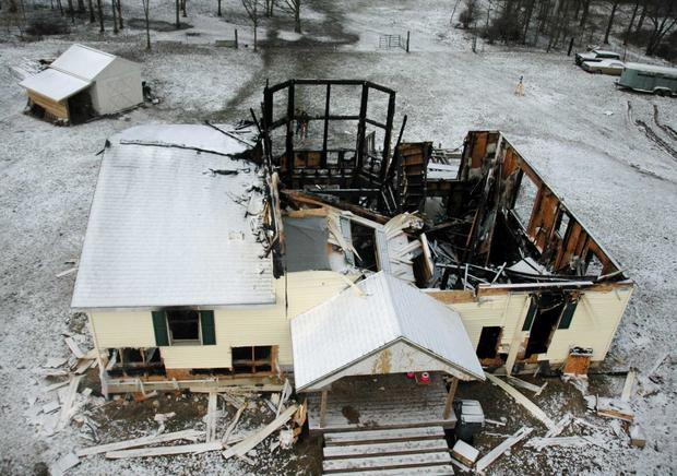 Stermer home after fire