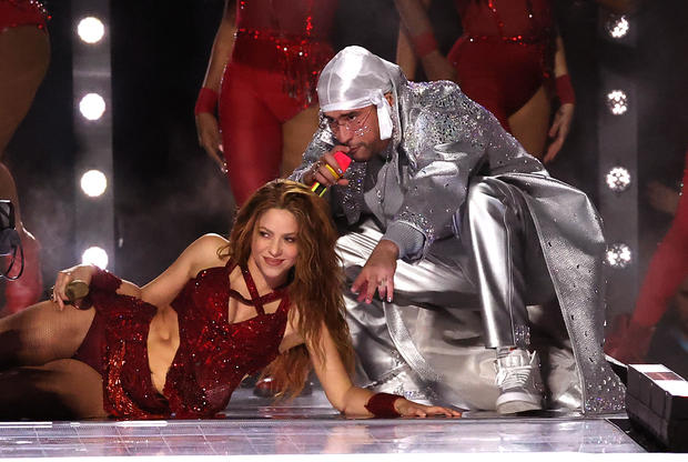 Super Bowl 2020: Shakira and Bad Bunny