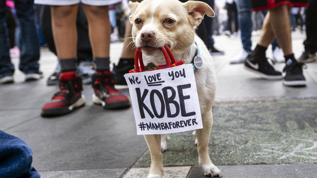 Kobe Bryant tribute: Fans honor an NBA legend