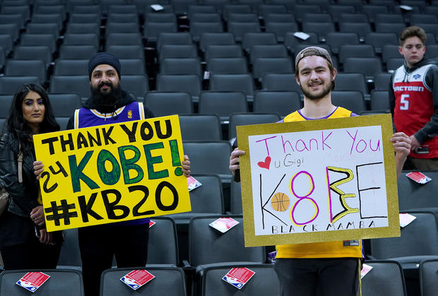 Kobe Bryant tribute: Honoring an NBA legend