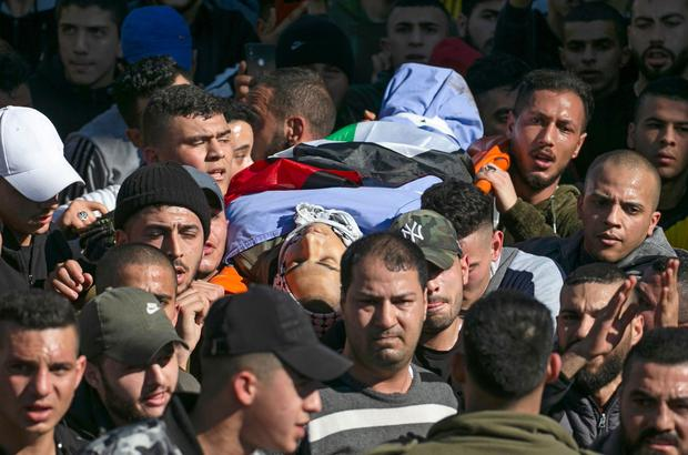 PALESTINIAN-ISRAEL-GAZA-CONFLICT-FUNERAL