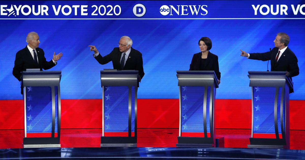 DNC announces qualifications for South Carolina Democratic presidential debate hosted by CBS News