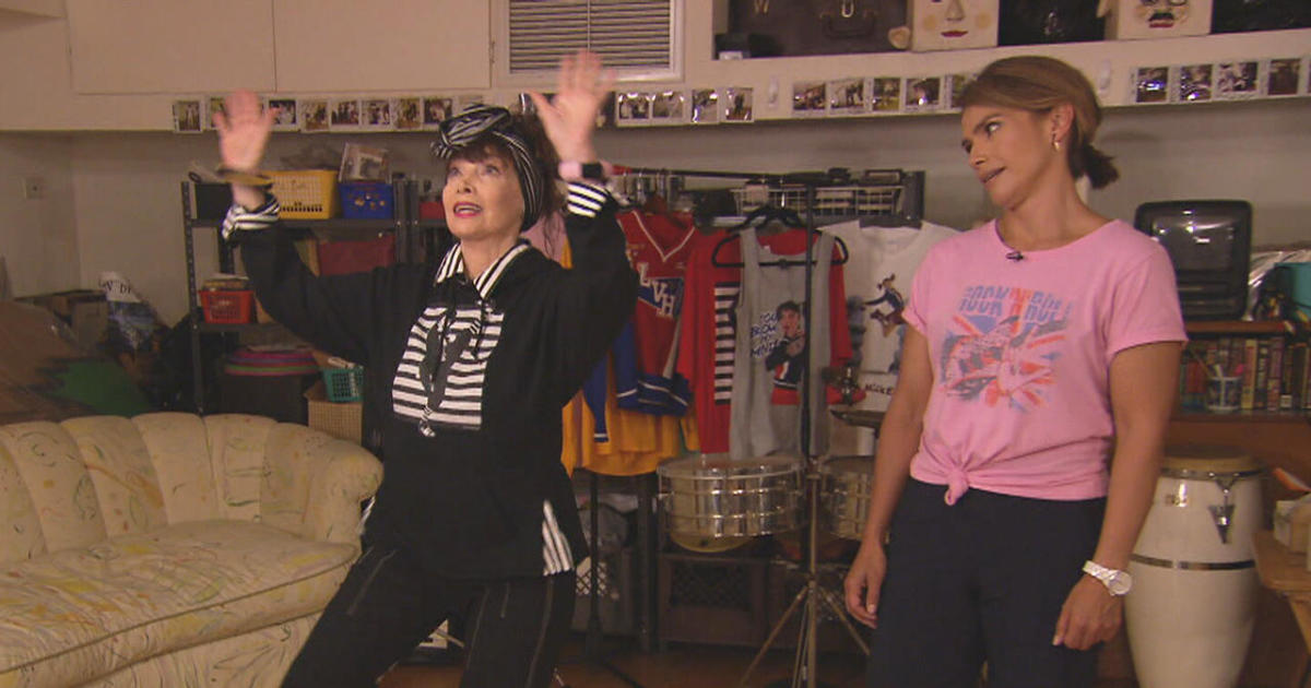 Dance, dance, dance! Toni Basil has all the right moves