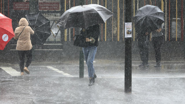 Heavy Rain Lashes Sydney Following Months Of Drought