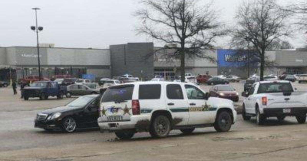 Two officers shot, suspect killed in shooting at Arkansas Walmart
