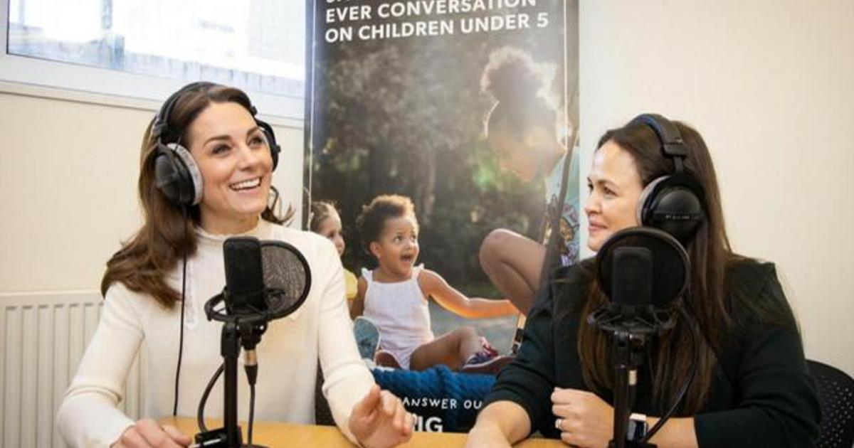 Duchess Kate opens up about her struggles as a new mom