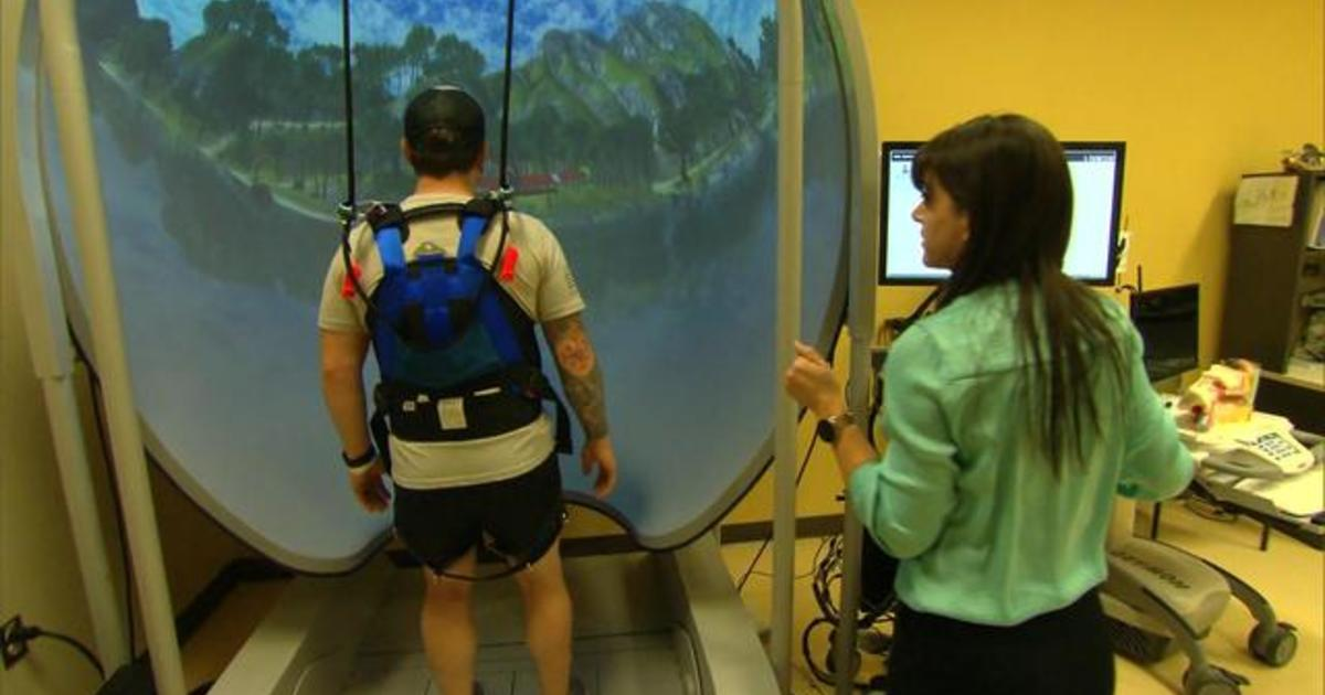 New program healing U.S. service members from injury using VR technology