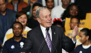 Bloomberg hit by fellow Dems ahead of caucus