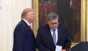 Former DOJ officials call on Barr to resign