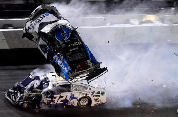 Ryan Newman crash — NASCAR Cup Series 62nd Annual Daytona 500