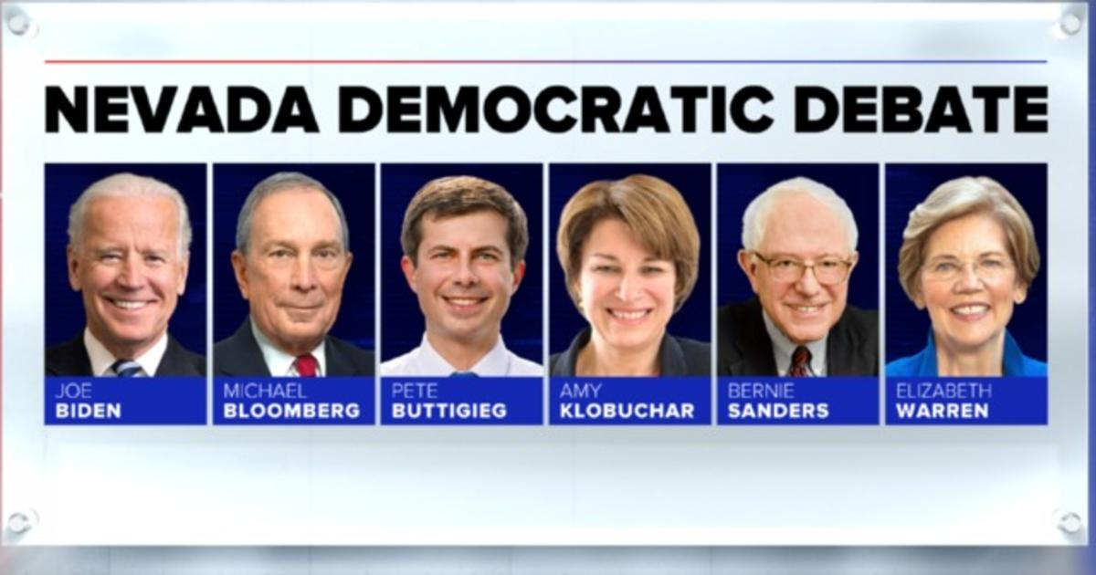 Candidates to face off in Las Vegas Democratic debate