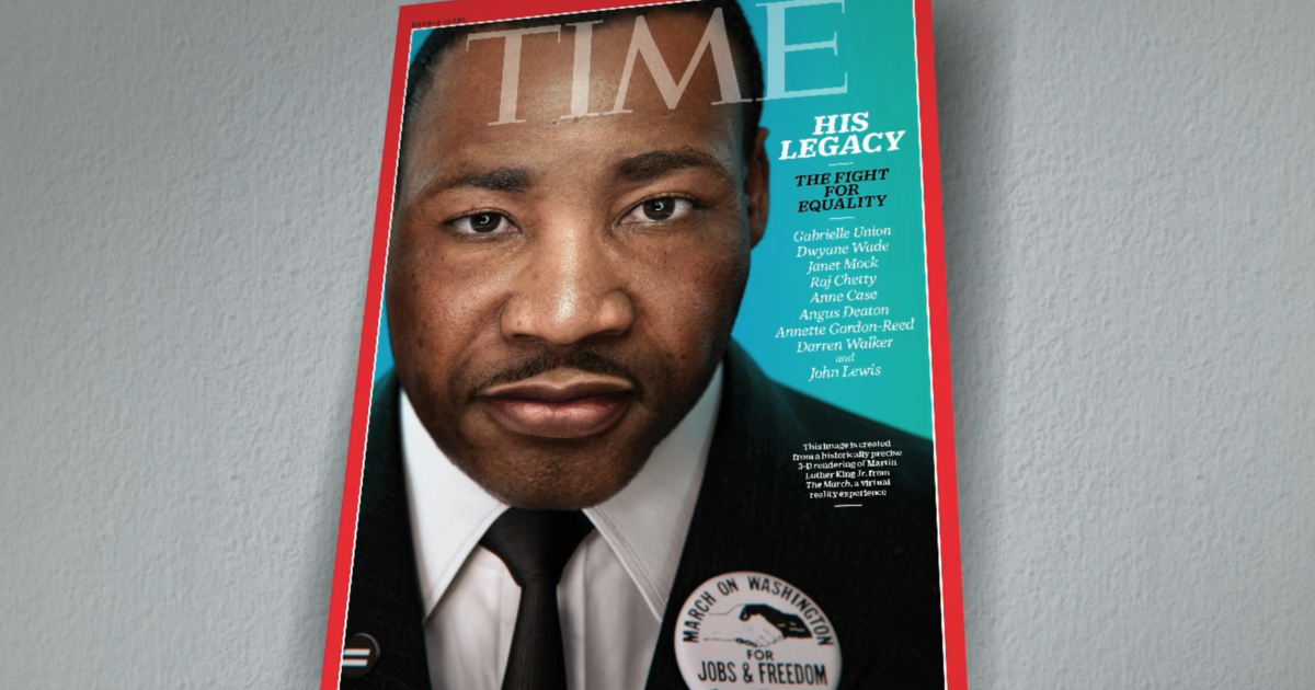 New Time magazine cover features Martin Luther King Jr. virtual reality photo