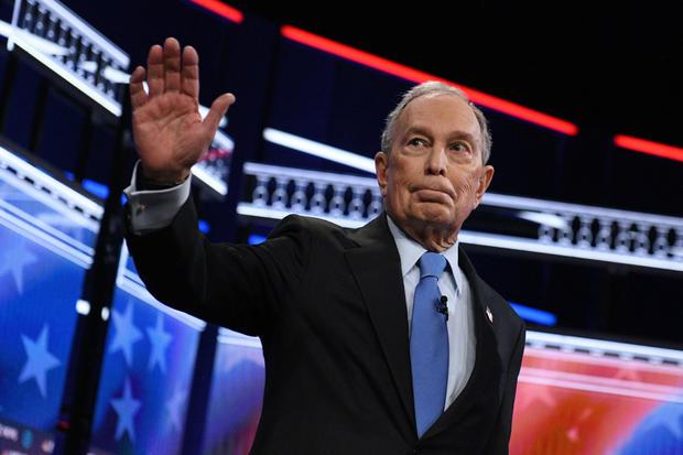 Michael Bloomberg — 2020 Democratic presidential debate — Las Vegas