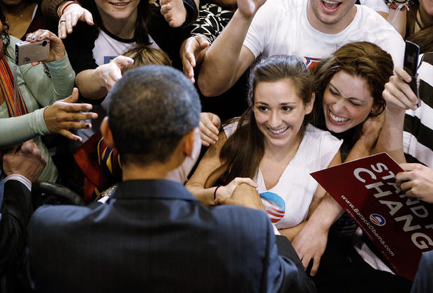 Obama Holds Campaign Rally In Washington DC