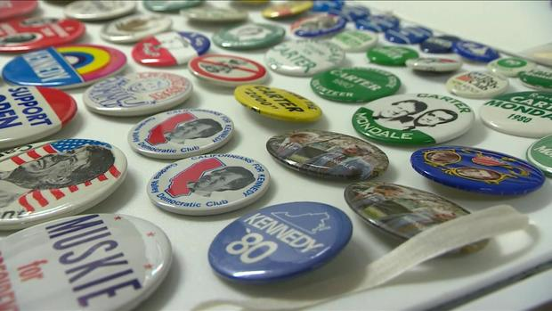 Smithsonian curators gather swag from political campaigns
